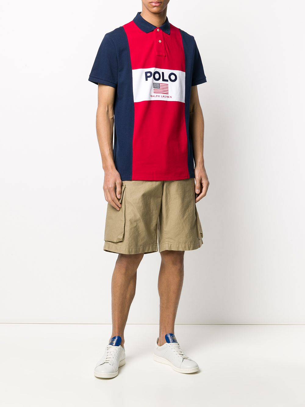 POLO RALPH LAUREN | Polo Ralph Lauren рубашка-поло с логотипом | Clouty