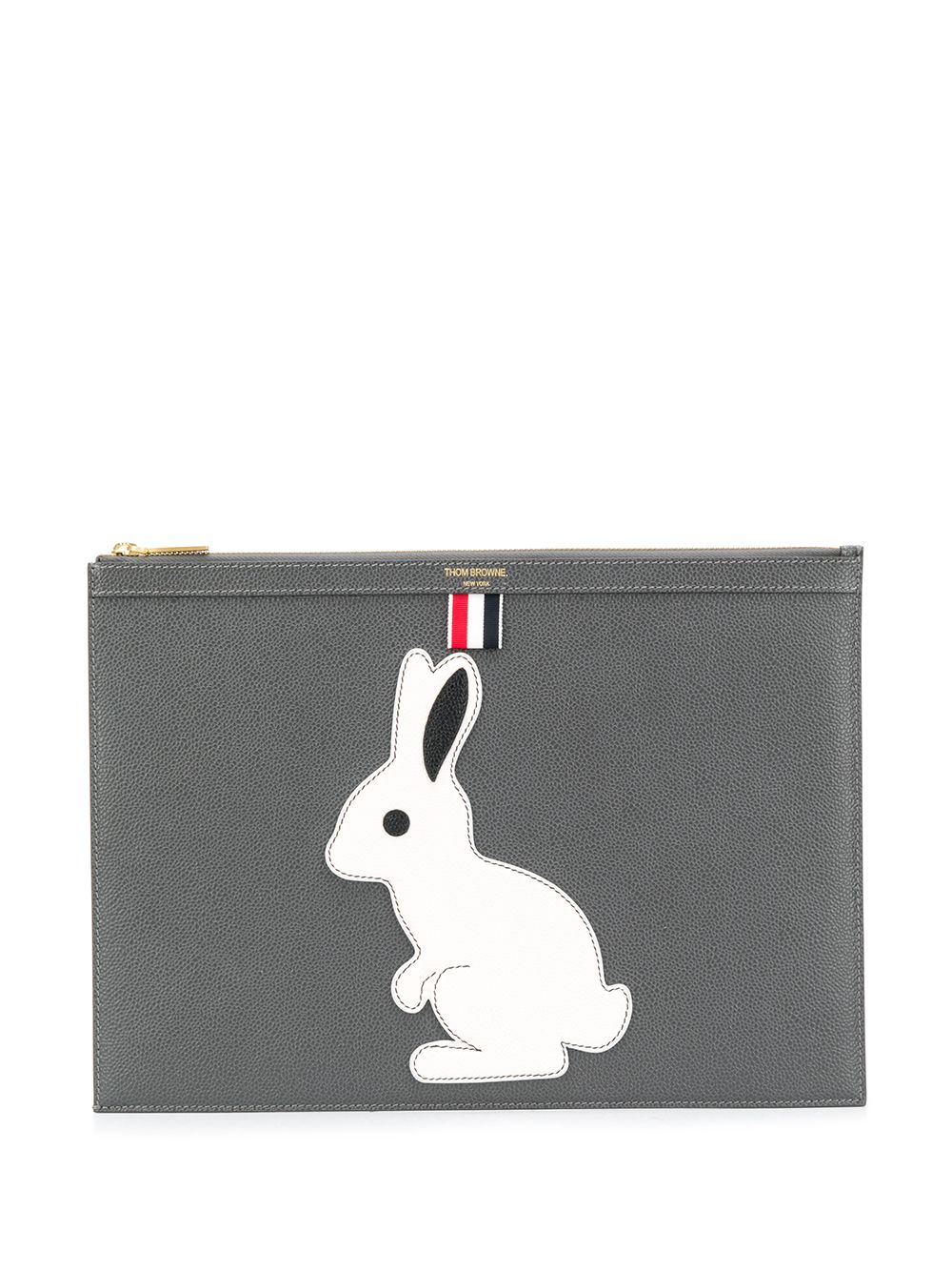 Thom Browne   Thom Browne клатч icon с анималистичным узором   Clouty
