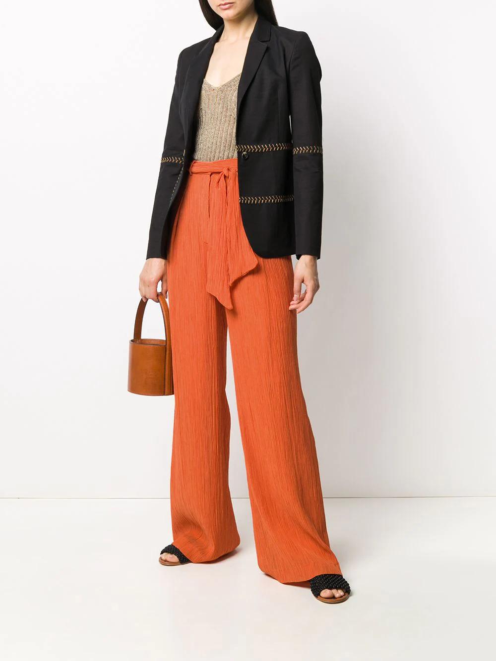 Gabriela Hearst   Gabriela Hearst брюки Tomazia с завязками   Clouty