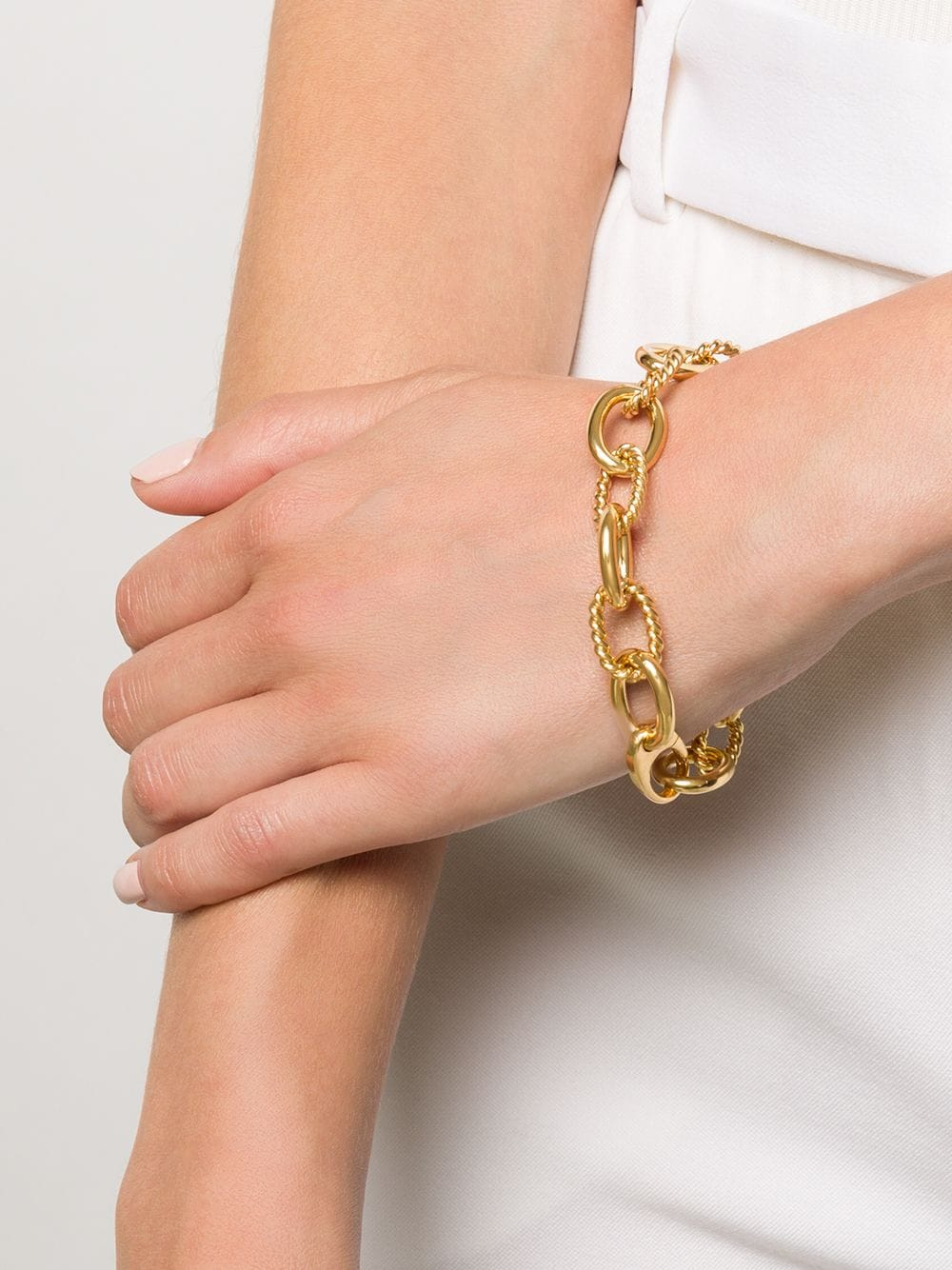 Isabel Lennse   Isabel Lennse массивный витой браслет-цепочка   Clouty