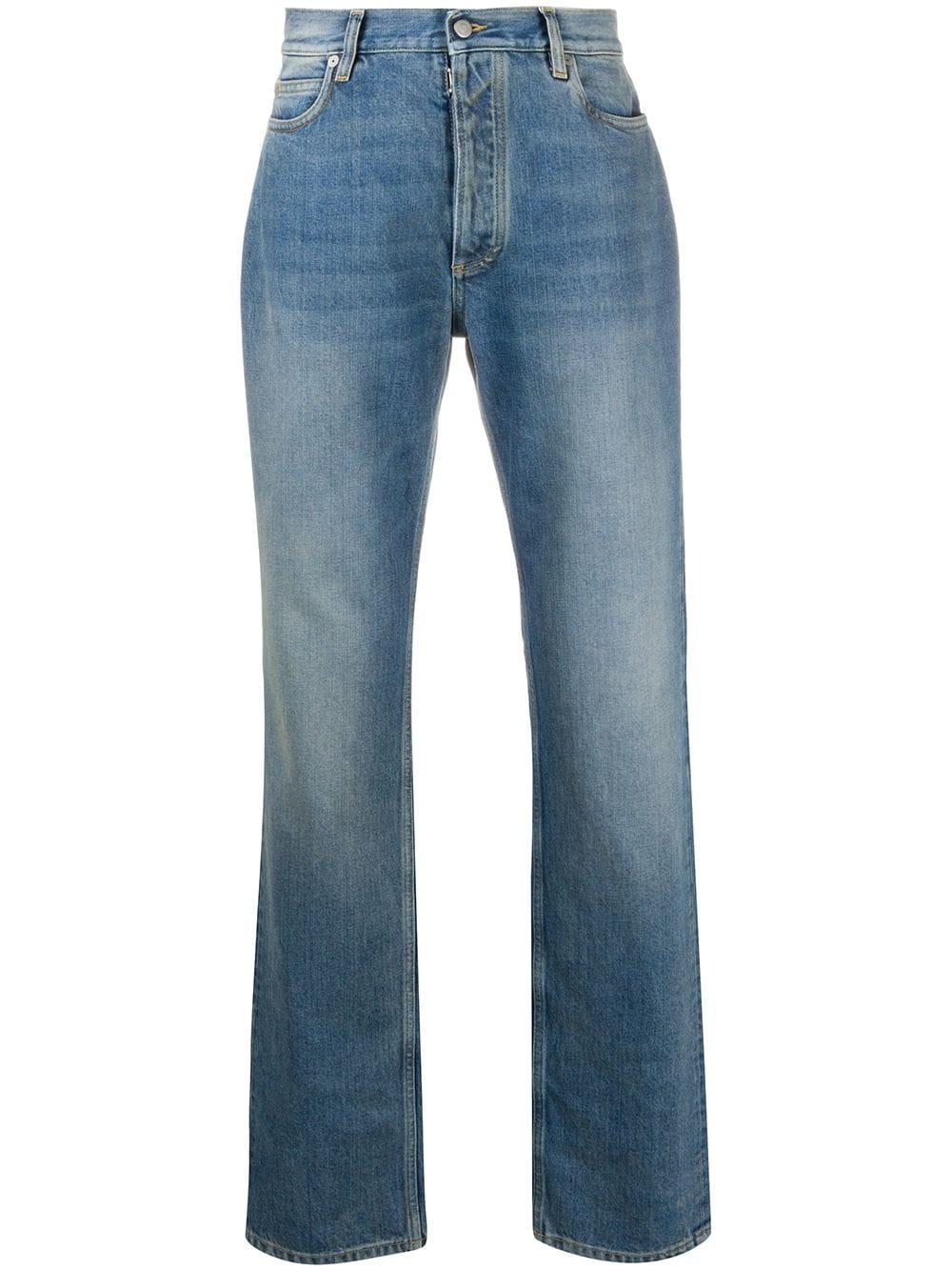 Maison Margiela   Maison Margiela джинсы прямого кроя   Clouty