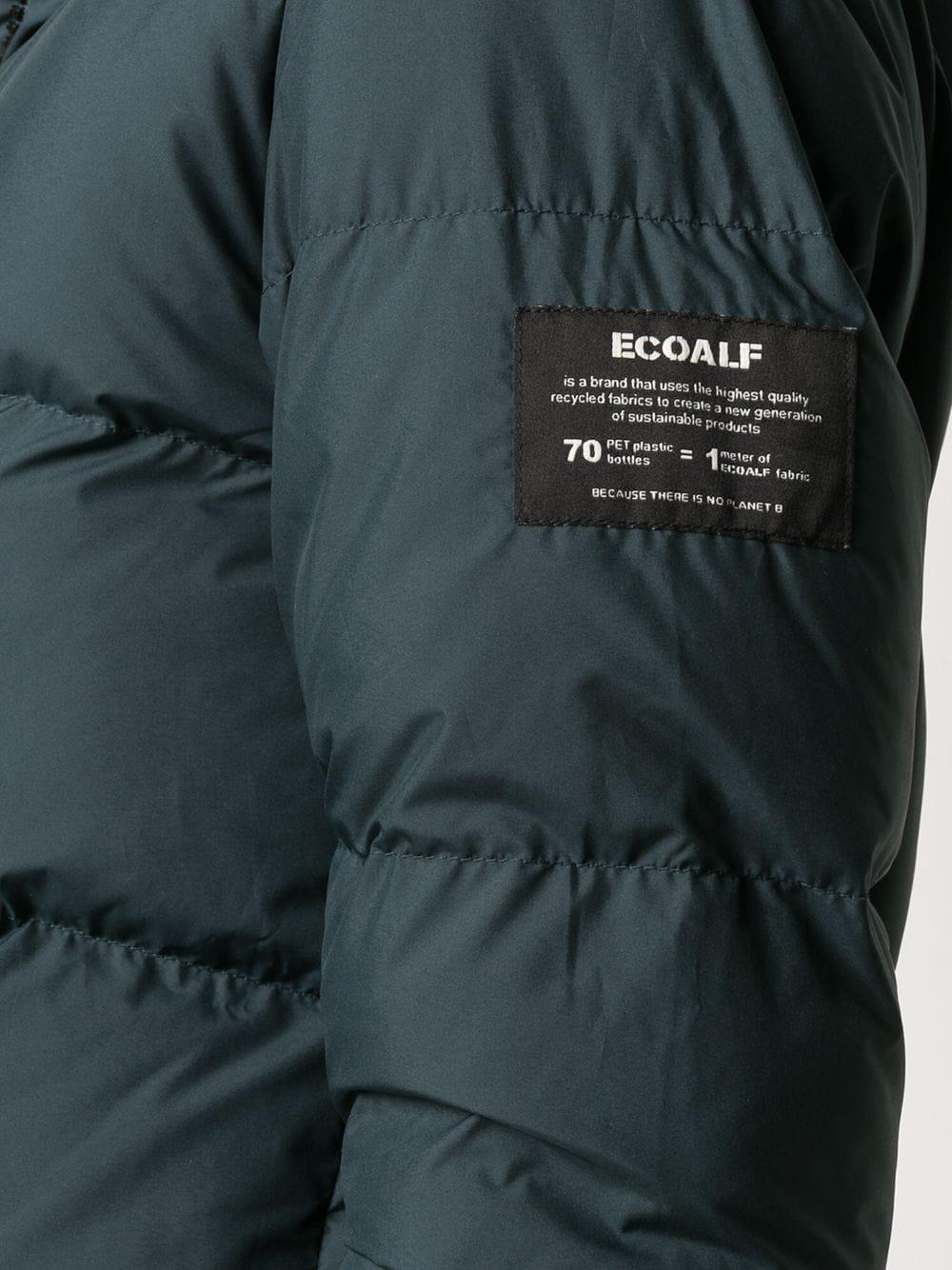 Ecoalf   Ecoalf пуховик с капюшоном   Clouty