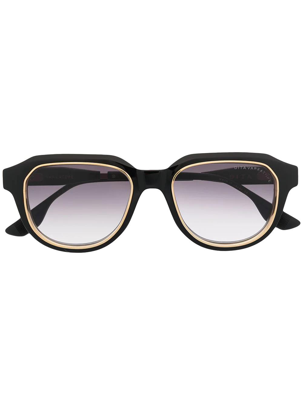 DITA EYEWEAR | Dita Eyewear солнцезащитные очки в круглой оправе | Clouty