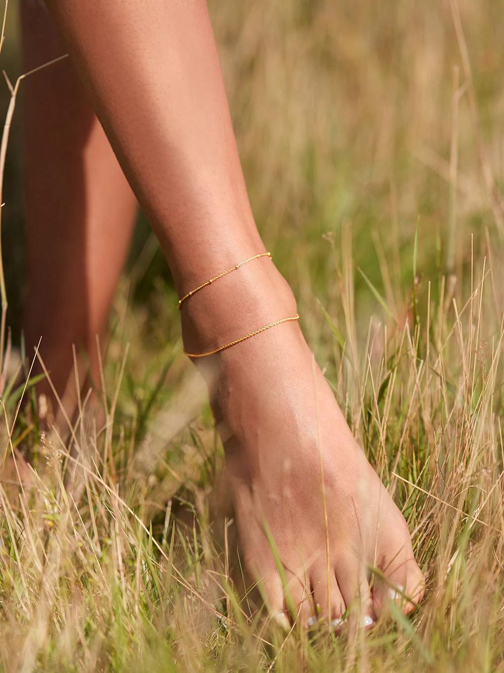 Monica Vinader | Monica Vinader браслет на ногу | Clouty