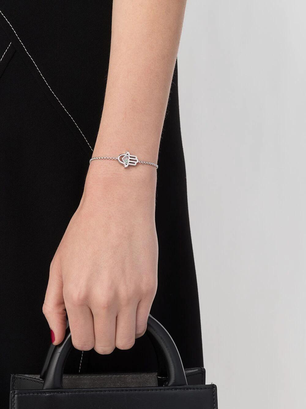 Chopard | Chopard браслет Good Luck Charms из белого золота с бриллиантами | Clouty