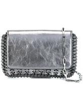 Фото сумка на плечо с отделкой металлик Paco Rabanne