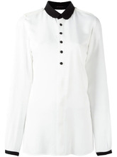 Фото рубашка с эполетами Y's