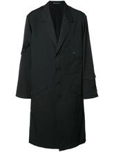Фото однобортное пальто Yohji Yamamoto