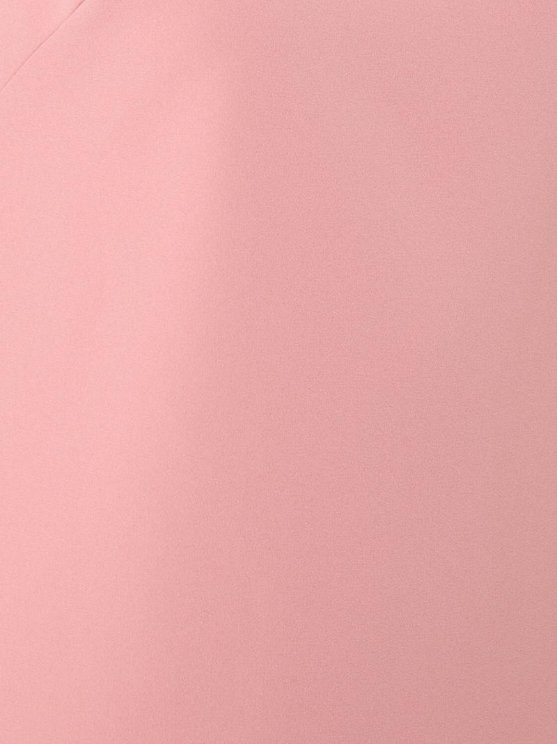 Alice + Olivia | Розовый и фиолетовый мини-платье без рукавов Alice+Olivia | Clouty