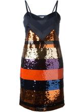 Фото полосатое платье с пайетками Sonia By Sonia Rykiel