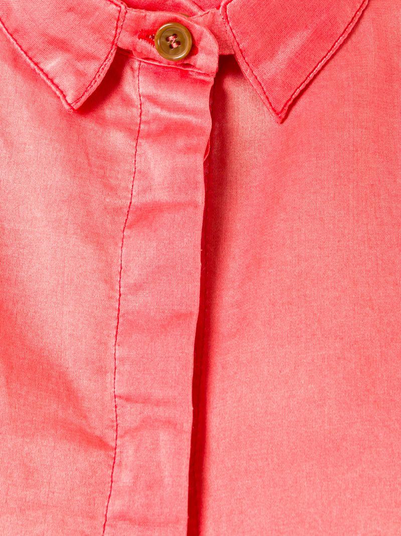 Henrik Vibskov | Красный футболка 'Beatle' Henrik Vibskov | Clouty