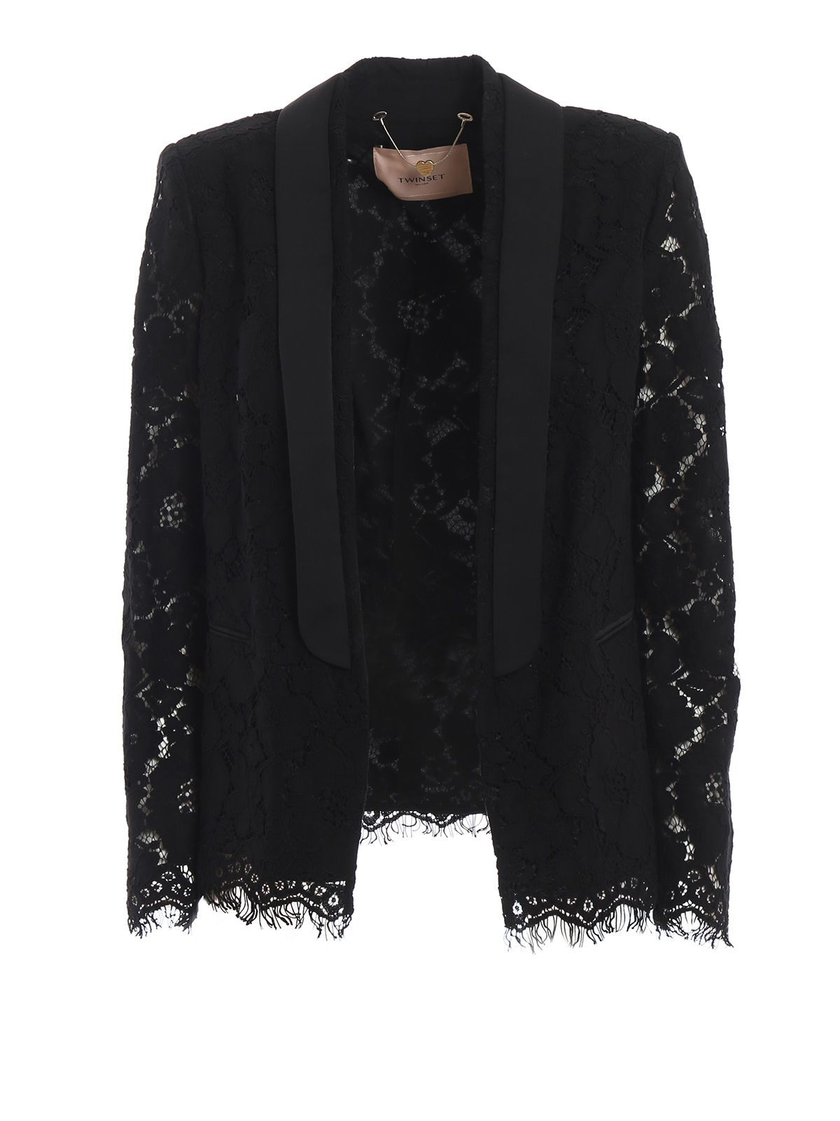 Twin-Set | Twin-set Lace Embroidered Blazer | Clouty