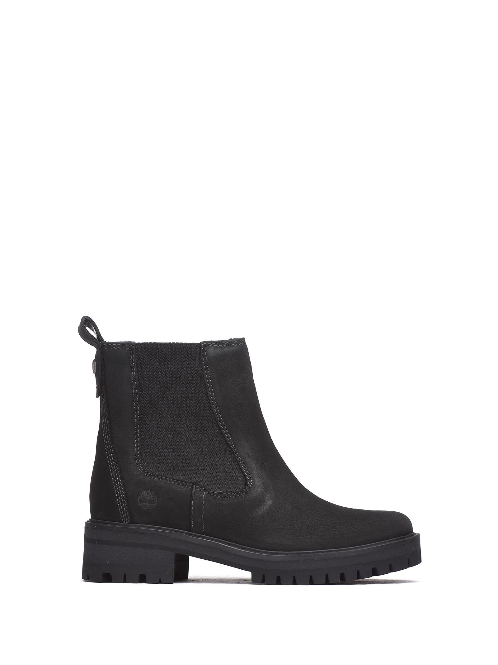 Timberland | Timberland Ankle Boots In Black Nabuk | Clouty