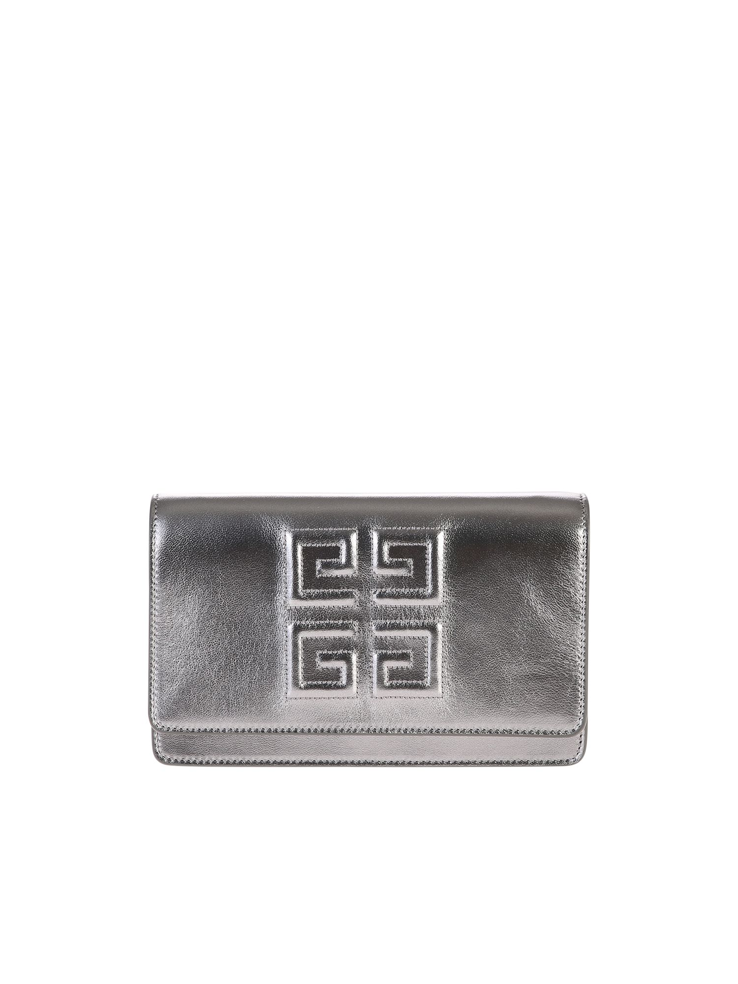 GIVENCHY | Givenchy Metallic Branded Bag | Clouty