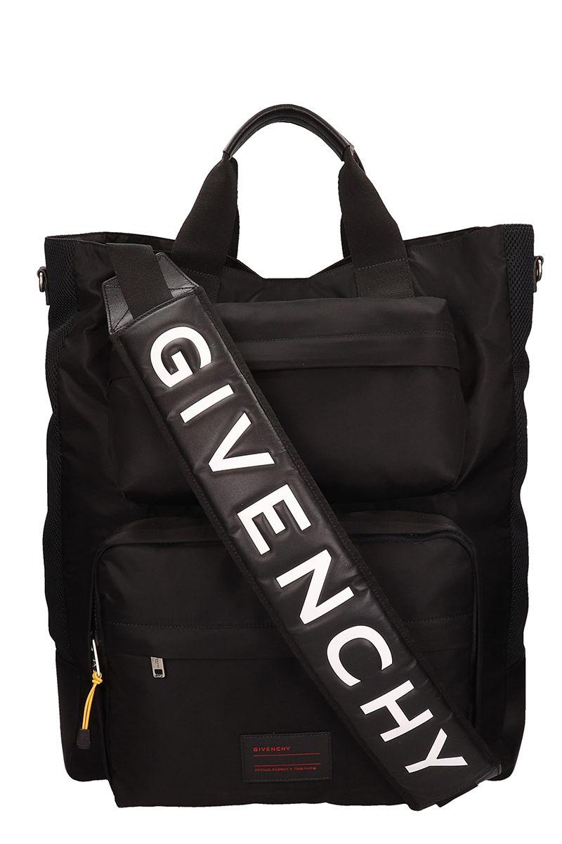 GIVENCHY | Givenchy Black Polyamide Tote Bag | Clouty
