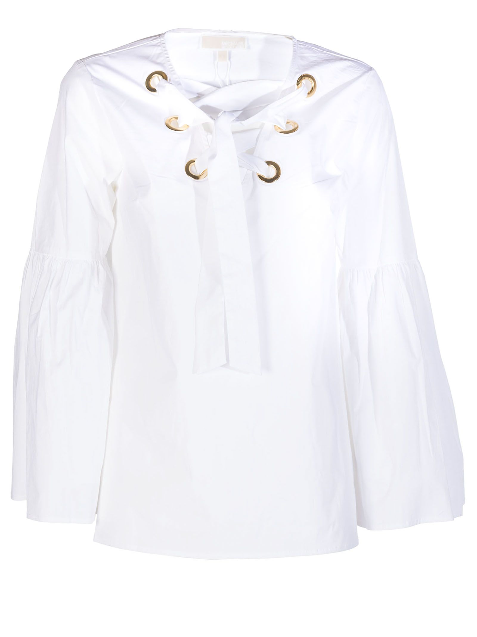 Michael Michael Kors | Michael Michael Kors Tie-neck Blouse | Clouty