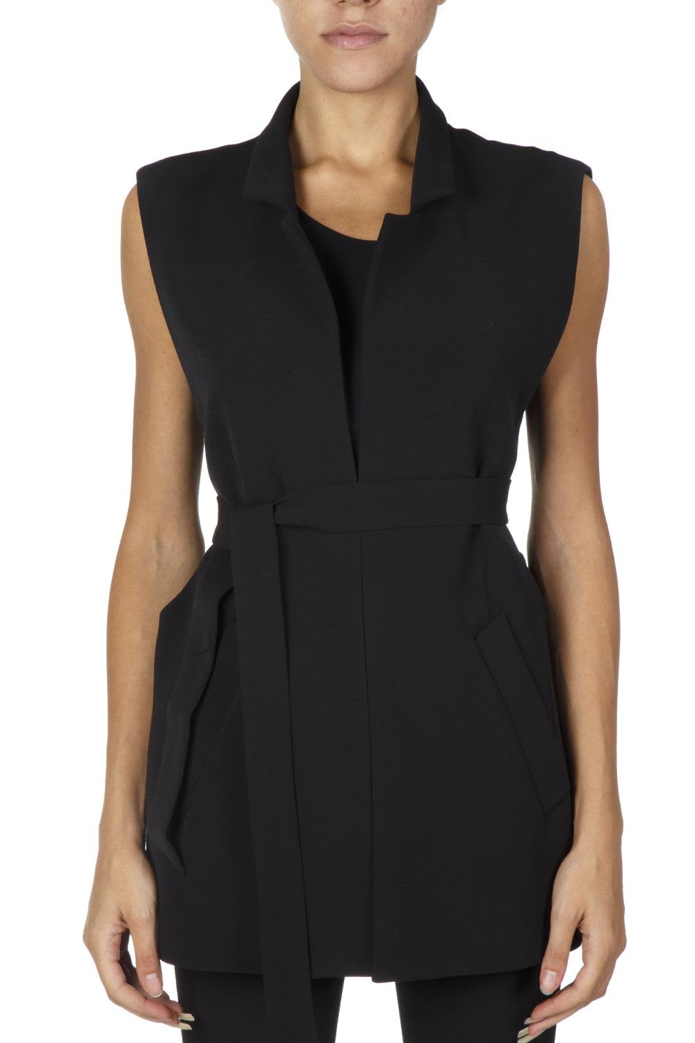 Maison Margiela | Maison Margiela Black Vest Jacket Model | Clouty