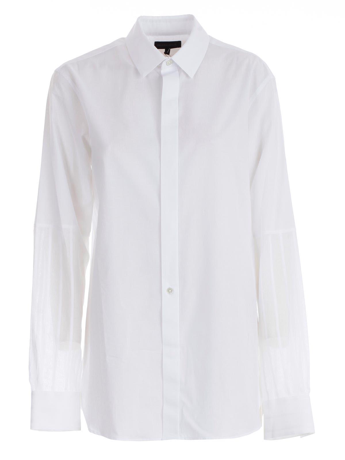 Ann Demeulemeester   Ann Demeulemester Plain Shirt   Clouty