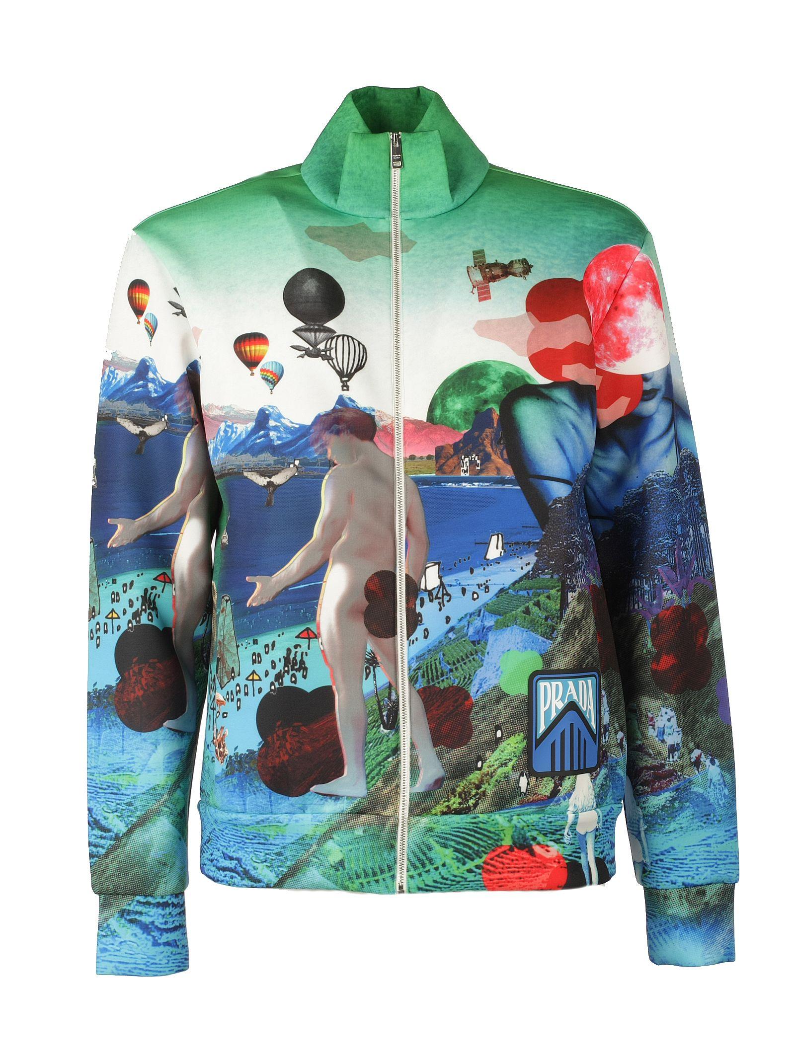 PRADA | Prada Graphic Art Jacket | Clouty