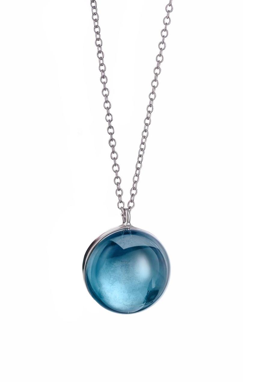 Natalia Bryantseva Jewelry | голубой Подвеска с ситаллом | Clouty