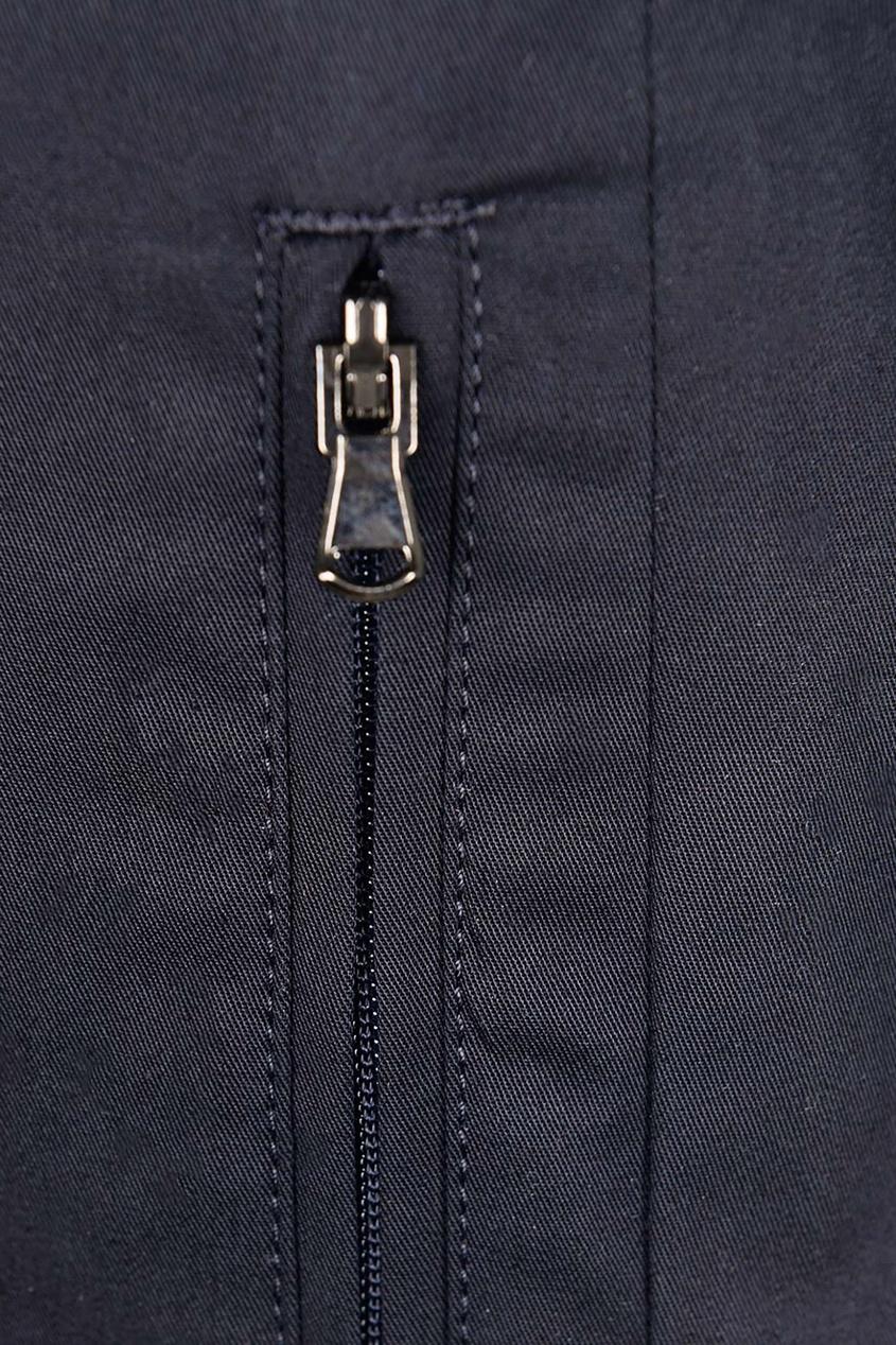 Dolce & Gabbana | черный Синие брюки с эластичным поясом | Clouty