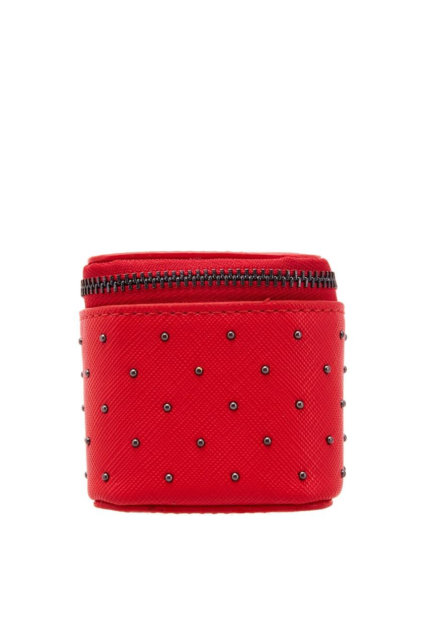 Adolfo Dominguez   красный Брелок с миниатюрной сумкой   Clouty
