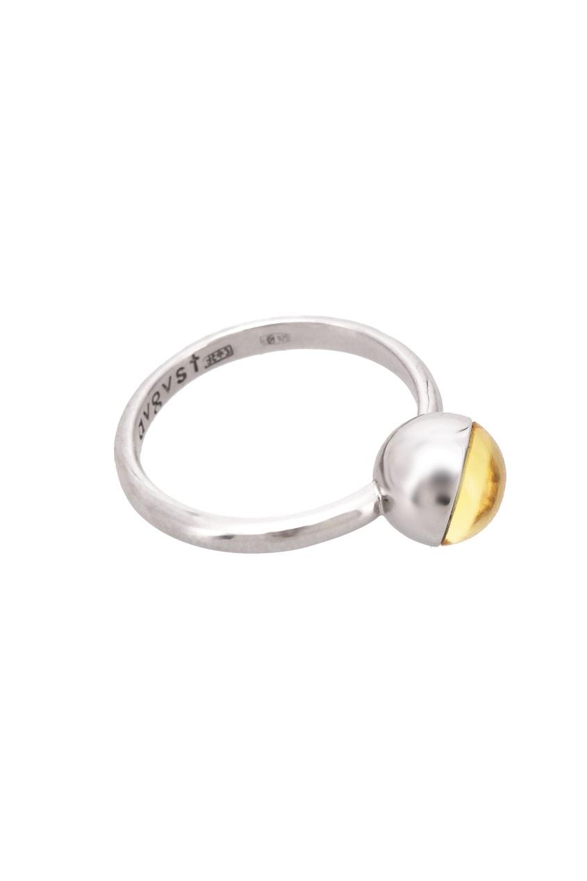 Natalia Bryantseva Jewelry | желтый Кольцо-шарик S с цитрином | Clouty
