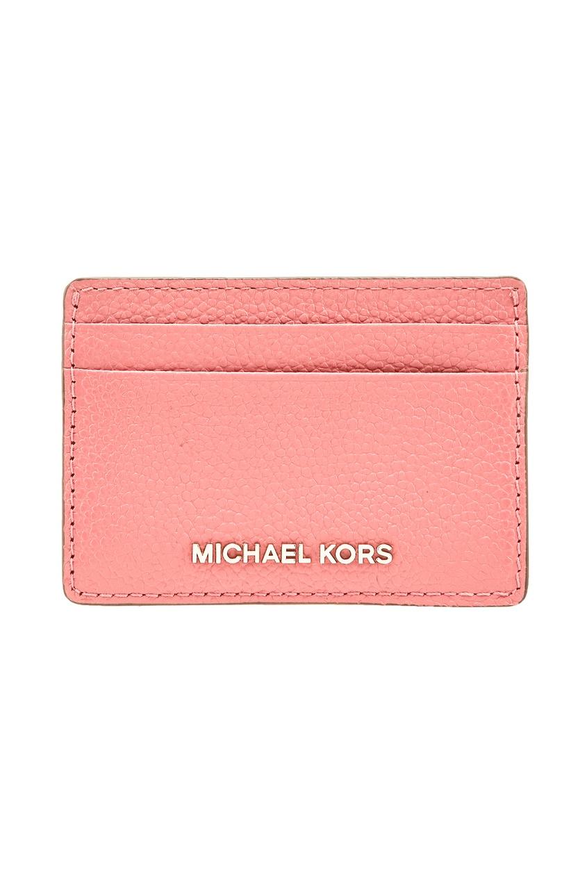 Michael Michael Kors | розовый Розовая визитница Money Pieces | Clouty