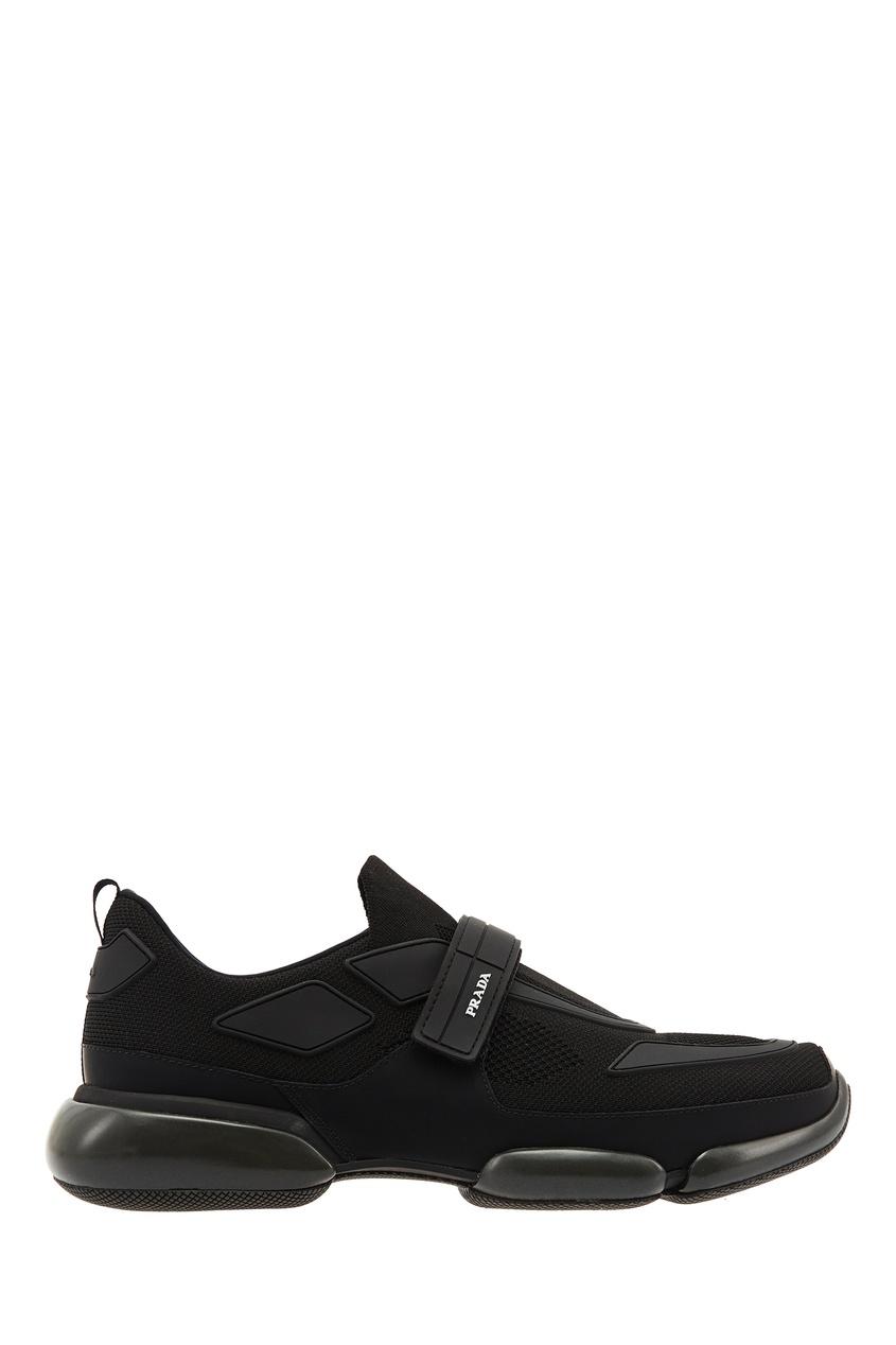 PRADA | черный Черные кроссовки Cloudbust | Clouty