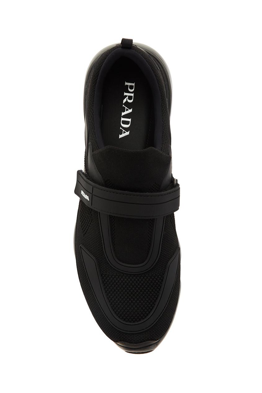 PRADA   черный Черные кроссовки Cloudbust   Clouty