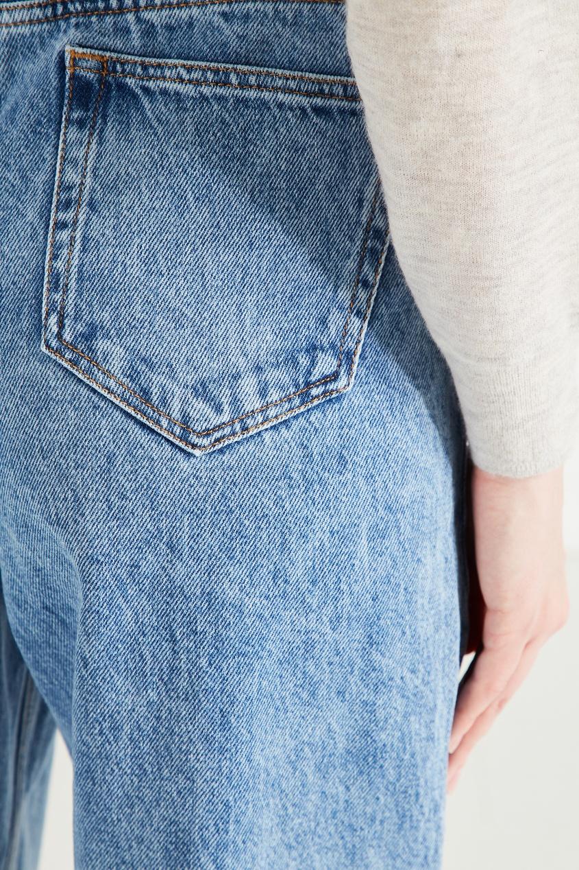 Isabel Marant Étoile | голубой Синие джинсы из вареного денима | Clouty
