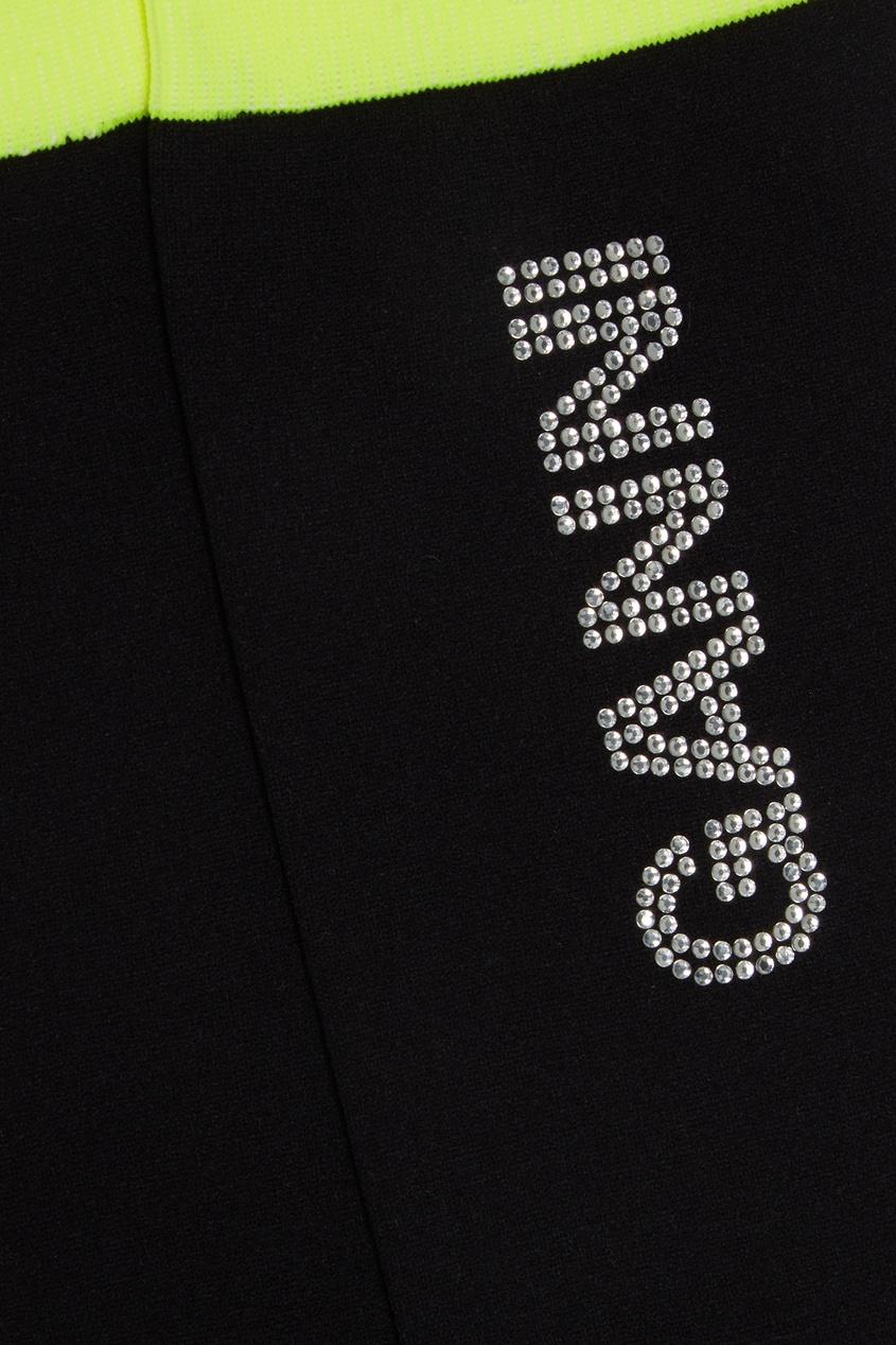 Ganni | черный Черные носки со стразами | Clouty