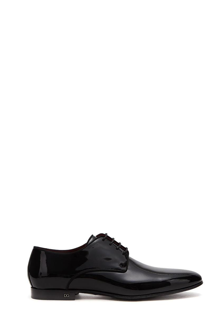 Dolce & Gabbana | черный Черные туфли из лакированной кожи | Clouty