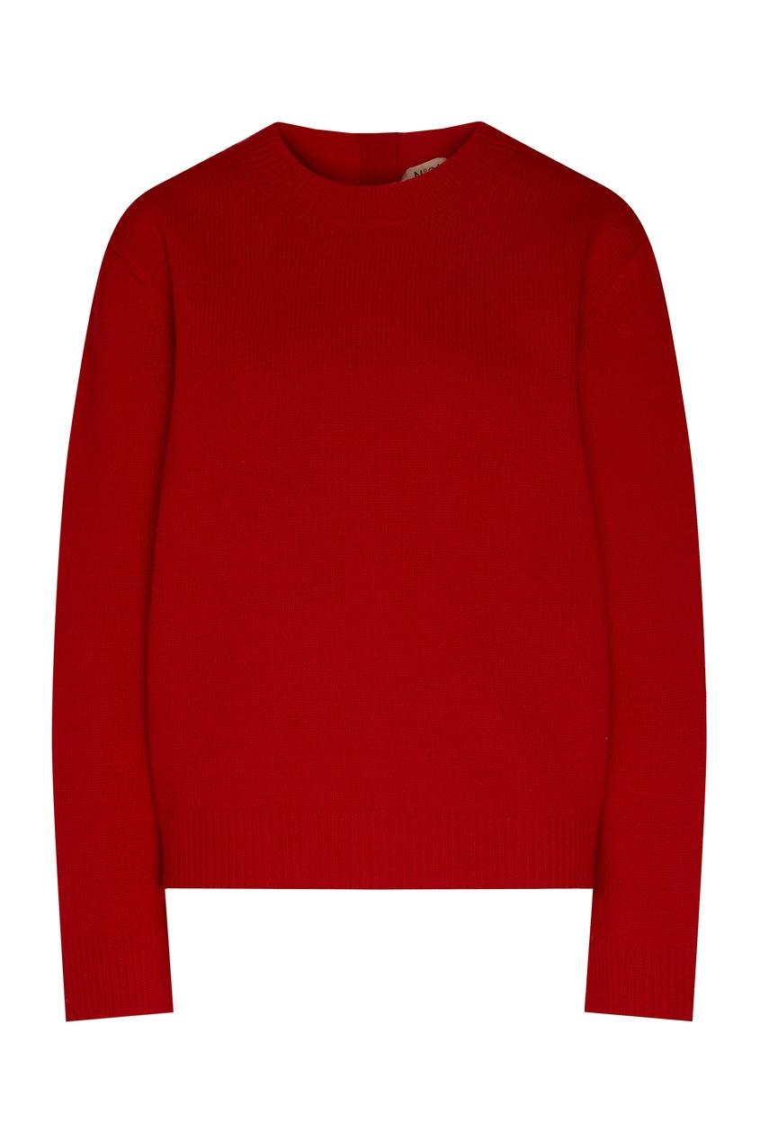 No. 21 | Красный джемпер с кристаллами | Clouty