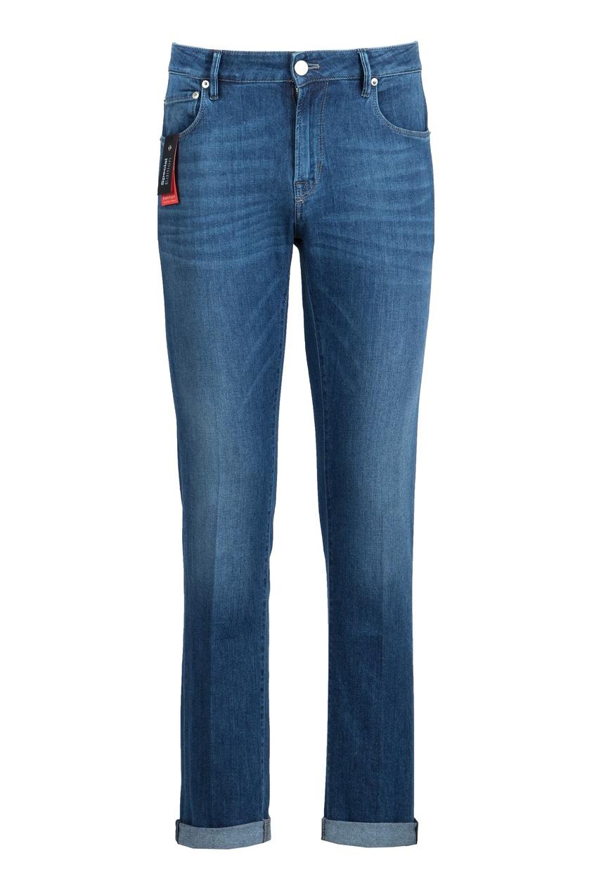 Pantaloni Torino | синий Синие джинсы с классической посадкой | Clouty