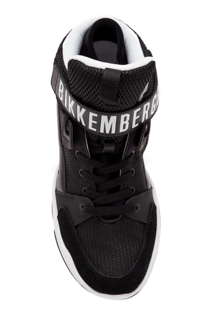 Bikkembergs | черный Высокие черные кроссовки | Clouty