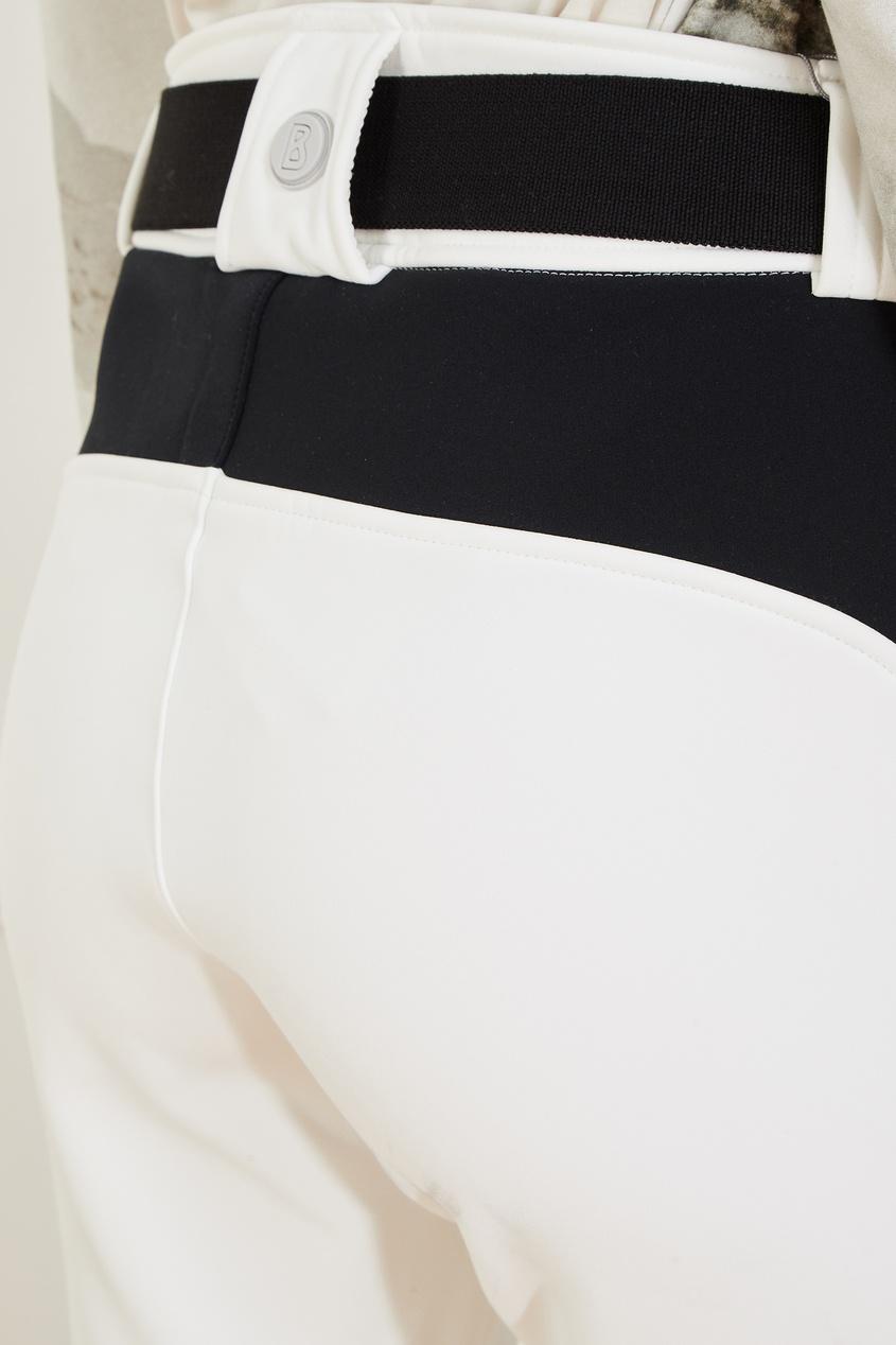 Bogner | белый Белые лыжные брюки Caleya | Clouty