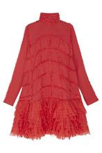 Фото Шелковое платье
