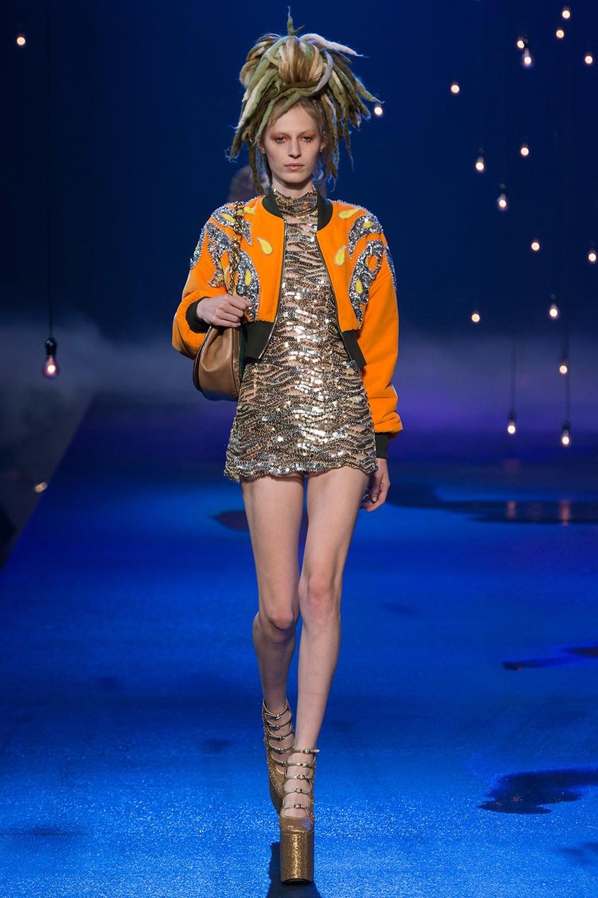 MARC JACOBS | золотой Платье с пайетками | Clouty