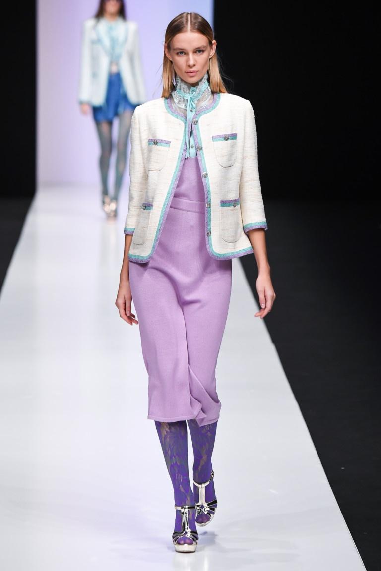 Laroom   фиолетовый Хлопковое платье   Clouty