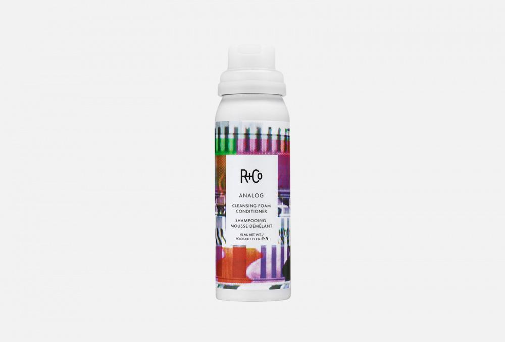 R+Co | Очищающая пена-кондиционер (travel size) | Clouty