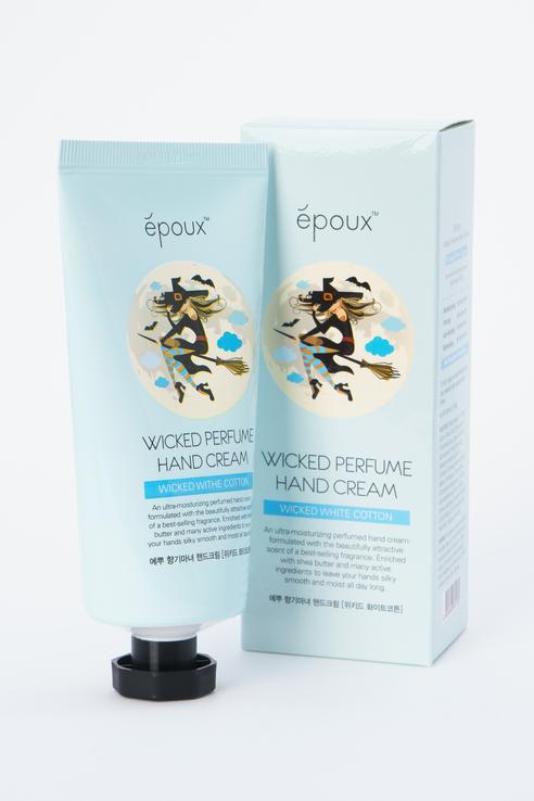 Epoux | Epoux Крем для рук парфюмированный увлажняющмй Perfume Hand Cream с хлопком | Clouty