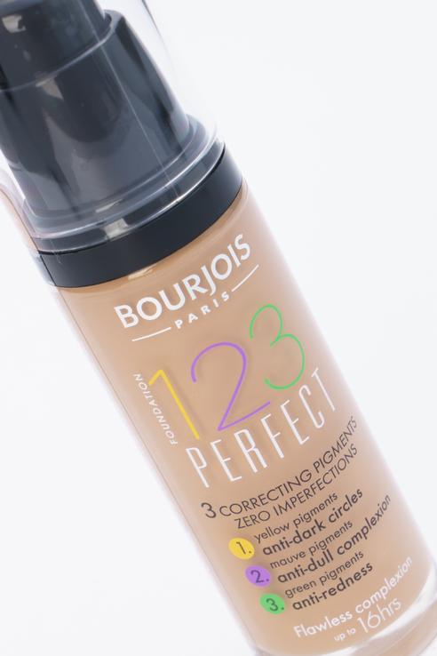 Bourjois | Bourjois Крем тональный 123 Perfect New темно-бежевый, тон 55 | Clouty