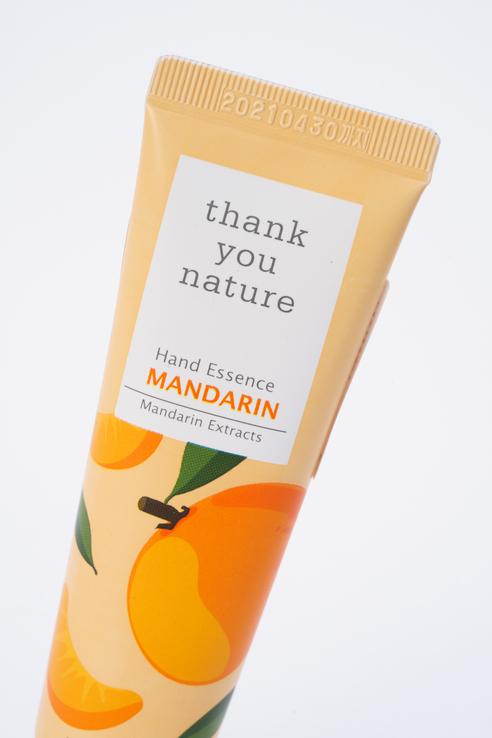 Vprove | VPROVE Крем-эссенция для рук с мандарином Thank You Nature Hand Essence Mandarin | Clouty