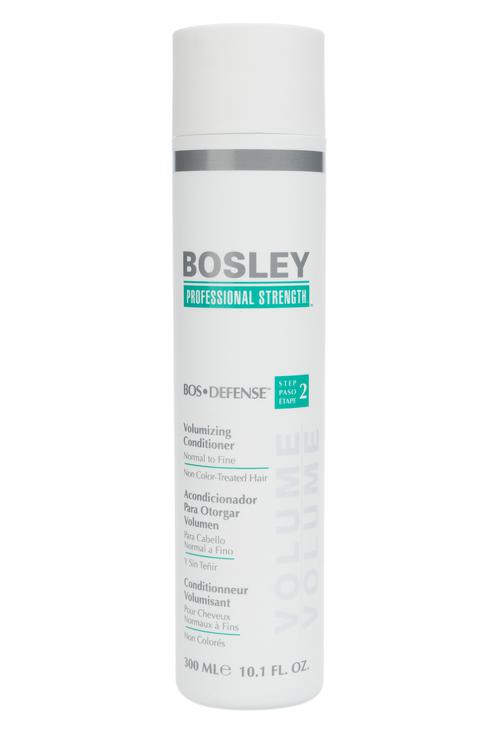 Bosley   Bosley Кондиционер для объема нормальных/тонких неокрашенных волос, 300мл   Clouty
