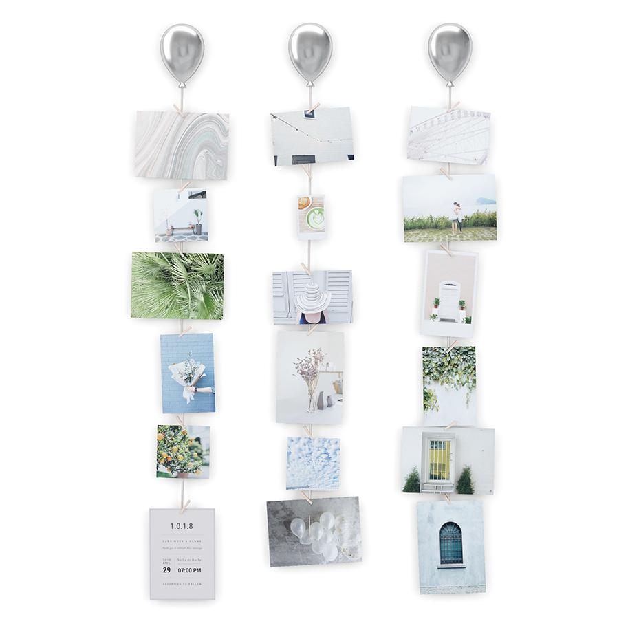 Inmyroom | Набор из трех держателей для фотографий up цвета хром | Clouty