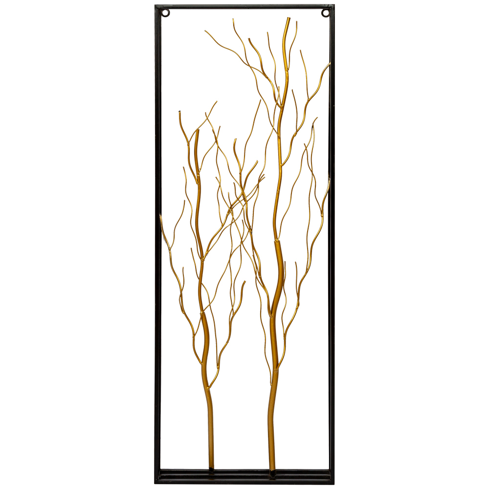 Inmyroom | Панно родант черно-золотого цвета | Clouty
