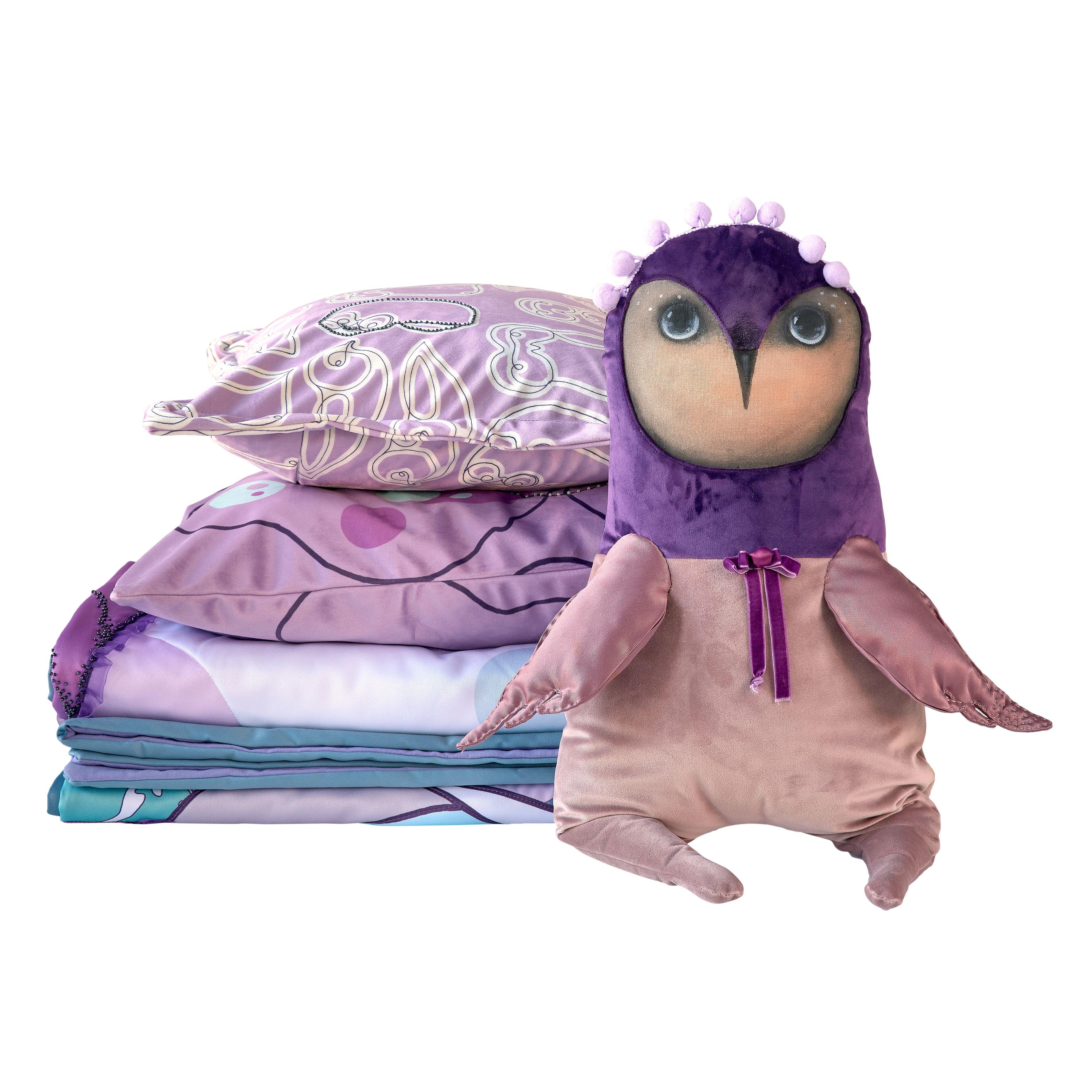 Inmyroom | Покрывало нежная сова детское | Clouty