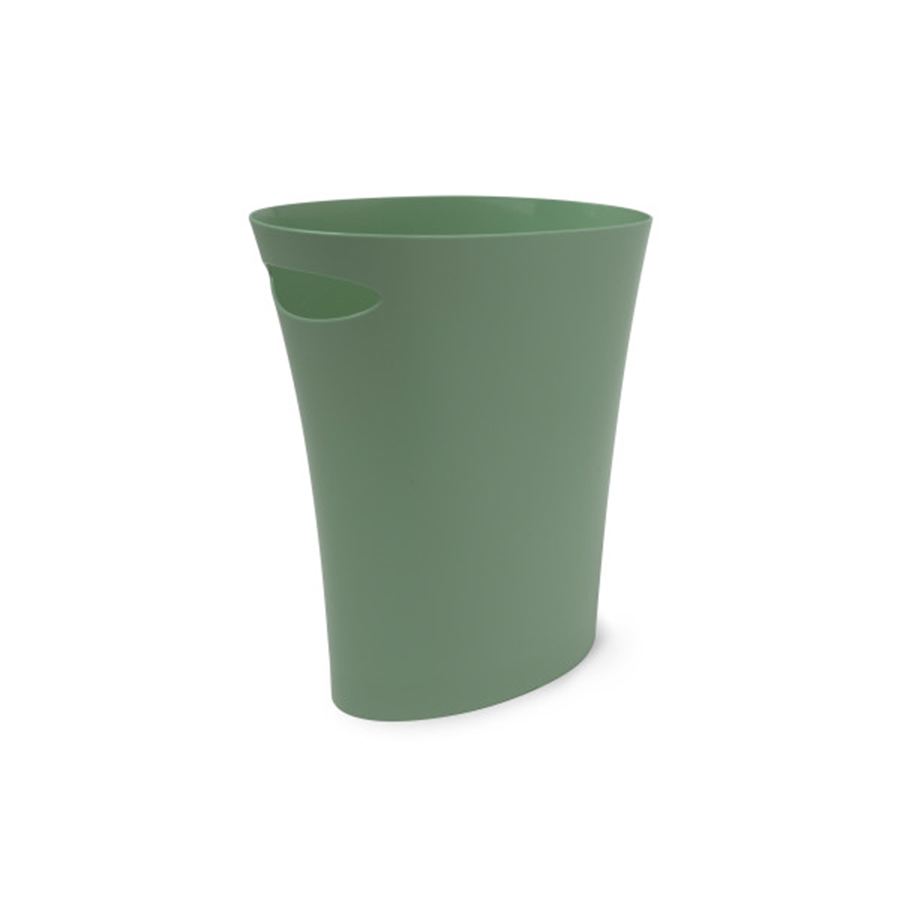 Inmyroom | Контейнер мусорный Skinny зеленого цвета | Clouty