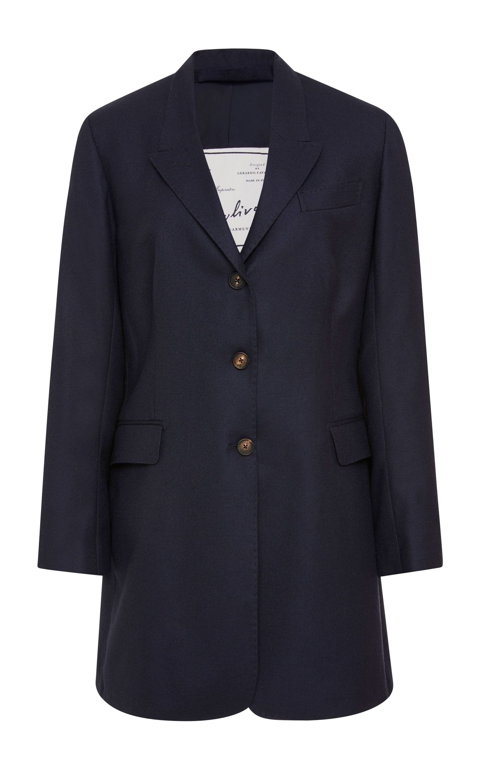 Giuliva Heritage Collection | Giuliva Heritage Collection Karen Belted Wool-Crepe Blazer | Clouty